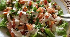 Sałatka z wędzonym łososiem – 1 porcjasałatka na 5 :) łatwa do zrobienia , pyszna, dietetyczna oraz sprawdza się na imprezach ze znajomymi Składniki:5 liści sałaty lodowej50 g wędzonego łososia ... Easter Recipes, Potato Salad, Potatoes, Ethnic Recipes, Potato