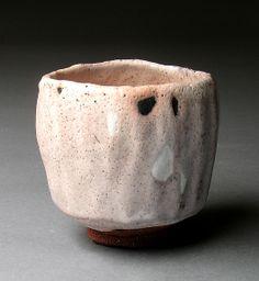 "Robert Fornell Tengu Chawan 2 2011 Reduction fired stoneware, glazes 4""x4.5""x4.5"""