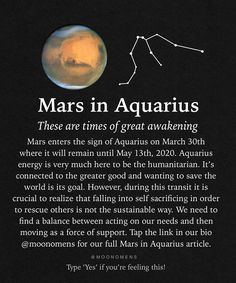 Mars Astrology, Mars In Aquarius, Great Awakening, Greater Good, Pisces, Zodiac, Spirituality, Moon, Feelings