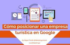 Guía para posicionar una empresa turística en Google. Consigue más clientes a través de la principal fuente de tráfico y posiciona ya tu negocio.