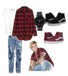 """Justin Bieber"" by lord-of-swagger on Polyvore featuring H&M, One Teaspoon, Madewell, Justin Bieber, The Horse and Vans"