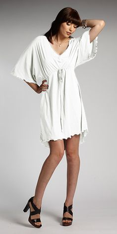 Women's organic cotton dress. Namaste Tunic by INDIGENOUS organic + fair trade fashion. #ecofashion