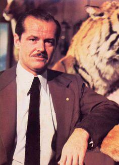 """Jack Nicholson en """"El Último Magnate"""" (The Last Tycoon), 1976"""