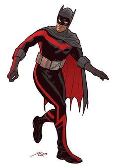 Batman redesign art by Joe Quinones