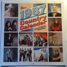 Official 1987 Country Calendar Published by Country Music Foundation Judds Reba calendar in very good shape Safely Stored For Over 30 Years This Will be a great Gift for any Fan Shipping will be within 2 days of your payment All Sales are . 30 Years, Country Music, Foundation, Great Gifts, Calendar, Fans, Shape, Foundation Series, Life Planner