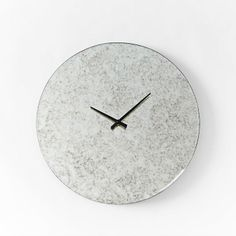 west elm Mirrored Round Clock on shopstyle.com
