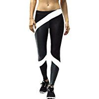 ZIOOER Unisex Women Men Fitness Yoga Sport Pants Printed Stretch Ankle Legging *** Read more reviews of the product by visiting the link on the image.