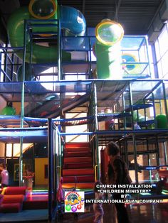 Children's Ministry - indoor playground ideas for your church. We have many sample designs and installations. Free designs also. Full renderings, levels, layout all in your design. www.iplayco.com