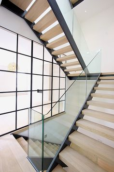 Mondrian Internal doors system by IQ Glass