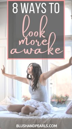 8 Ways To Look More Awake. Check out my hacks to look more awake with no sleep using makeup and skincare tips. I don't get a lot of sleep as a busy mom, so knowing how to fake awake is an important part of my morning routine - found out how I do it in this post! #beautyhacks #momhacks #momlife #makeuptips #makeuphacks #skincaretips Best Beauty Tips, Beauty Hacks, Love Makeup, Makeup Tips, Hacks Every Girl Should Know, Mom Hacks, Glowing Skin, Hair Hacks, Makeup Yourself