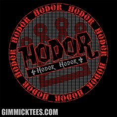 In the Game of Hodors, you Hodor or you Hodor!