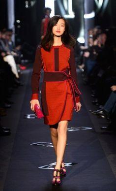 via BKLYN contessa :: DVF :: Mercedes-Benz Fashion Week : Fall 2013