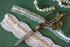 DIY garter.  You can obvs use different materials, but this could be better than buying one!