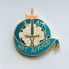 """I+am+not+afraid.+I+was+born+to+do+this."" -- Show+your+courage+with+Joan+of+Arc's+heraldry. Hard+enamel+lapel+pin.+ -- Boston+Comic+Con+2016+Pickup:+Select+the+BCC+option+in+the+checkout+screen!+Be+sure+to+include+your+full+name,+I'll+be+at+table+D708+with+one+reserved+just+for+you."