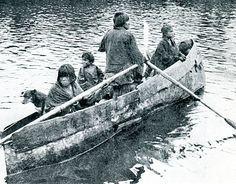 Museo Chileno de Arte Precolombino » Kawashkar Patagonia, Small Sailboats, Don Quixote, Native American Tribes, Power Boats, Water Crafts, Canoe, South America, Kayaking