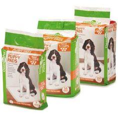 Clean Go Pet Super Absorbency Puppy Pads, 100 Ct, Multicolor