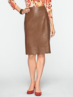 Talbots - Leather Pencil Skirt | Skirts |