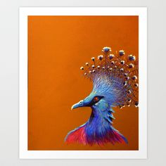 Goura Victoria Art Print by Shannon Gordy - $34.00