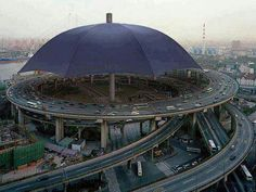 O maior guarda chuva do mundo chinês