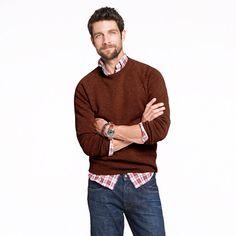 Lambswool sweater - So cute on my boy ;)