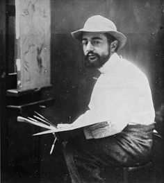 Lautrec, paint experiments Vincent also got to know Henri de Toulouse-Lautrec better. He often brought his work to show Lautrec in his studio, which was just around the corner from Vincent's brother Theo's flat. Influenced by Lautrec, Vincent experimented briefly with diluted oil paint. Henri de Toulouse-Lautrec (1864-1901), c. 1889