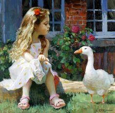 ImpressioniArtistiche: Vladimir Volegov ~ children