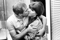 Adriano Celentano and Claudia Mori