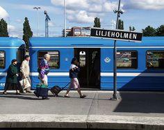 Liljeholmen perrong