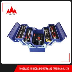 factory direct sale portable metal tool box js-09