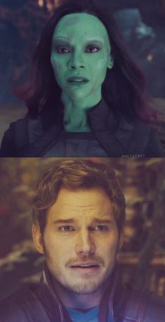 Gamora and Star Lord Marvel Avengers, Marvel Comics, Marvel Heroes, Marvel Girls, The Avengers, Star Lord, Chris Pratt, Star Trek, Gardians Of The Galaxy