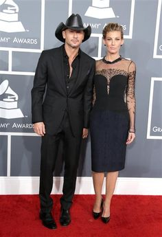 Tim McGraw & Faith Hill, 2013 Grammy Awards