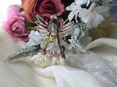 『プリンセスシリーズ』☆ホワイトドレスの歌姫☆ワイヤーペンダント