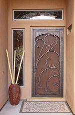 Security screen door by First Impressions