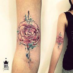 rose by Rodrigo Tas, Sao Paulo, Brazil   rose tattoos