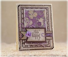 EwenStyle: Zva Creative February Blog Hop. Gorgeous papers, lovely 'no image' card style.