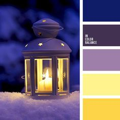 This palette represents a standard combination of violet and yellow colours. Dark, rich violet is the basis of the palette and it combines perfectly with t Best Picture For wedding color palette blue Purple Color Palettes, Colour Pallette, Christmas Palette, Christmas Colors, Christmas Colour Schemes, Decoration Palette, Color Balance, Colour Board, Color Swatches