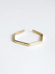 Clara Hexagon Bracelet
