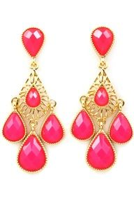 Champa Pink Drops...  cute jewelry for cheap!