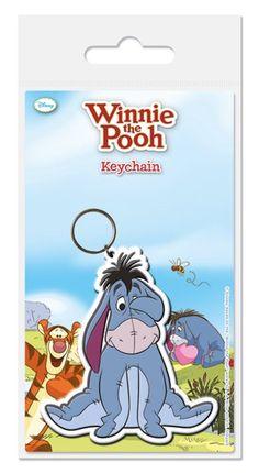 Winnie the Pooh - Eeyore - Rubber Key Ring