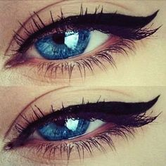 #makeup #love #eyeshadow #eyes #mascara #black #blueeyes #blue