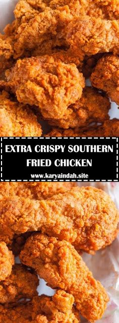 EXTRA CRISPY SOUTHERN FRIED CHICKEN - #recipes