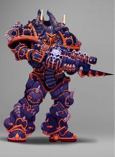 Blood Magick, Chaos 40k, Space Marine, Gw, Warhammer 40k, Demons, Marines, Bowser, Horror