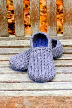 crochet pattern  men's house slippers pattern