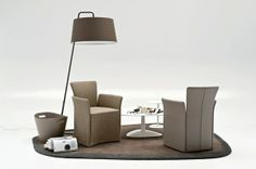 Nido Calligaris Armchair, Lighting, Furniture, Home Decor, Sofa Chair, Single Sofa, Armchairs, Home Furnishings, Lights
