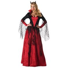 Get the exciting demon bride costume for Halloween and carnival! Halloween Outfits, Halloween Costumes For Sale, Halloween Dress, Costumes For Women, Adult Halloween, Bride Costume, Costume Dress, Halloween Kleidung, Devil Costume