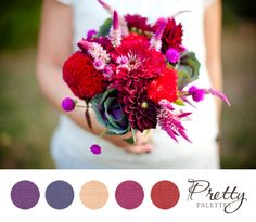 Wedding Colors - Pretty Palettes #18 PHOTO SOURCE • KATELYN JAMES PHOTOGRAPHY
