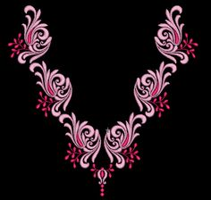Hand Embroidery Design Patterns, Simple Embroidery Designs, Hand Embroidery Dress, Embroidery On Clothes, Rose Embroidery, Hand Embroidery Stitches, Embroidery Works, Beading Patterns, Tambour Beading