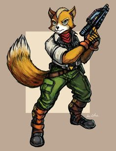 StarFox by TheLivingShadow on DeviantArt