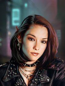 Shadowrun Returns - Character Portrait by erase-rewind.deviantart.com on @DeviantArt