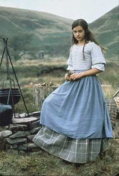 Lorna Doone: my template for elise. love the period costuming Modest Dresses, Modest Outfits, Modest Fashion, Historical Costume, Historical Clothing, Vintage Outfits, Vintage Fashion, Dulcie Dornan, Pioneer Clothing